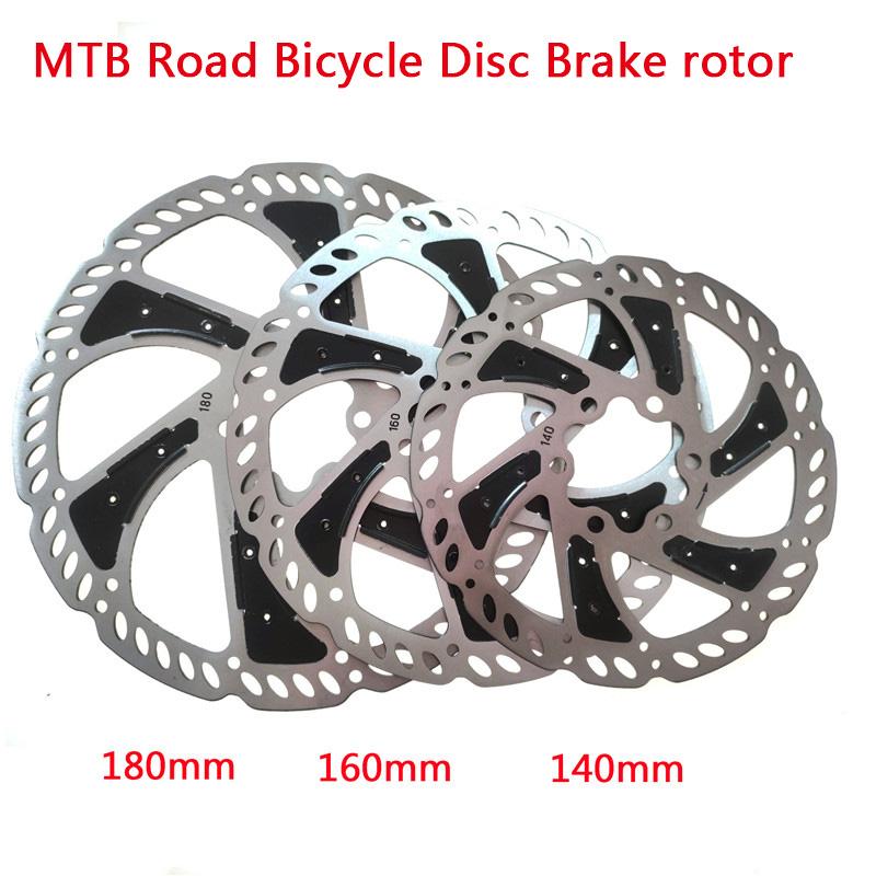 MTB Road Bicycle Disc Brake <font><b>rotor</b></font> 140/160/<font><b>180mm</b></font> Radiating Heat dissipation Disc brake <font><b>Rotor</b></font> Bicycle Accessories High quality HOT image