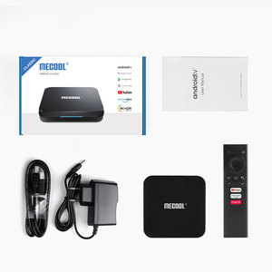 Image 5 - Mecool KM9 Pro Classic Google Certified Amlogic S905X2 Android 10.0 2G 16G 4K HDR Cast Voice Control Android TV Box Prefix