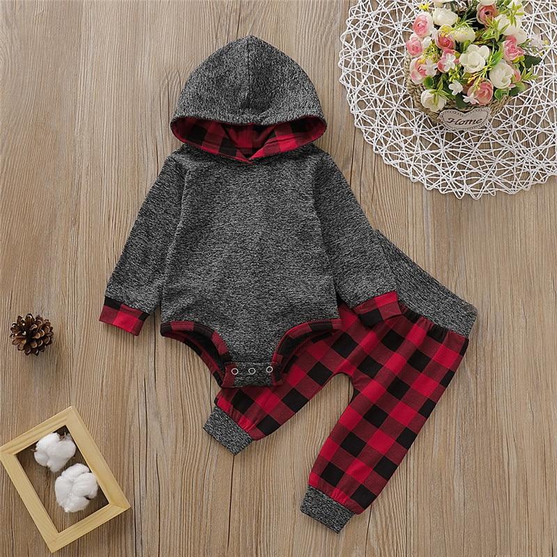 Bebê menino outfits recém-nascidos conjunto de roupas