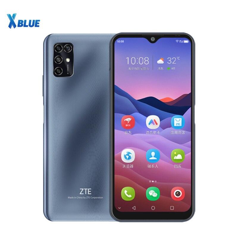 """ZTE Blade V2020 Smart 6.82 """"5000mAh TFT 1640x720 4GB 128GB téléphone portable 16MP côté empreinte digitale reconnaissance de visage OTG téléphone portable   AliExpress"""