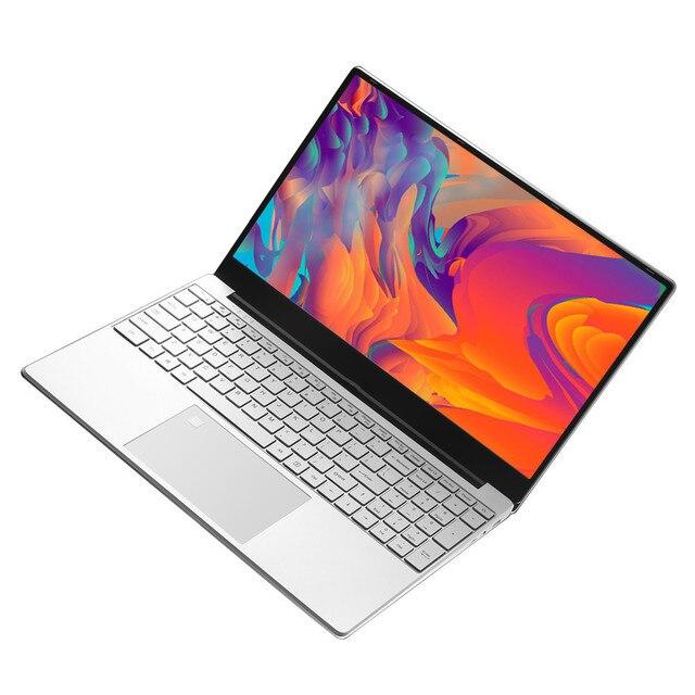 EU RU Sent Fingerprint unlocking 15.6 inch laptops Windows 10 1920*1080 Intel J4125 12GB RAM 128GB/256GB/512GB/1TB HDMI Notebook 1
