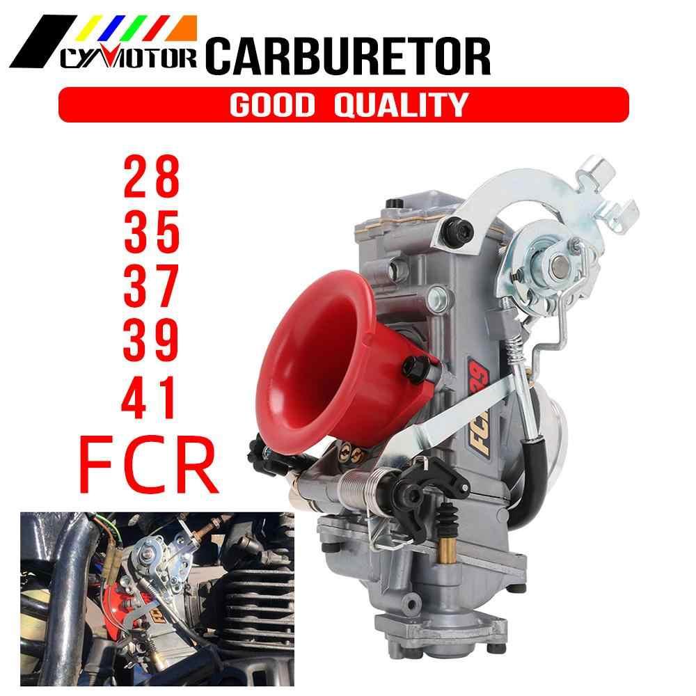 FCR 28 31 33 35 37 39 41mm FCR karbüratör FCR39 Keihin için CRF450 CRF650 FS450 Husqvarna450 KTM yarış motorlar iyi güç