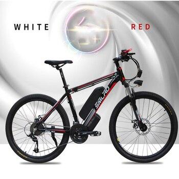 Smlro 48v 15A 350W 26 Inch Motor-driven electric bike Bicycle Mountain Vehicle bicicleta electrica ebike 2