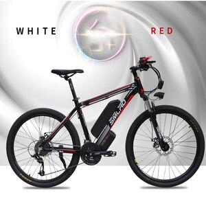 Image 2 - Smlro 48v 15A 350W 26 인치 모터 구동 전기 자전거 자전거 산악 차량 bicicleta electrica ebike