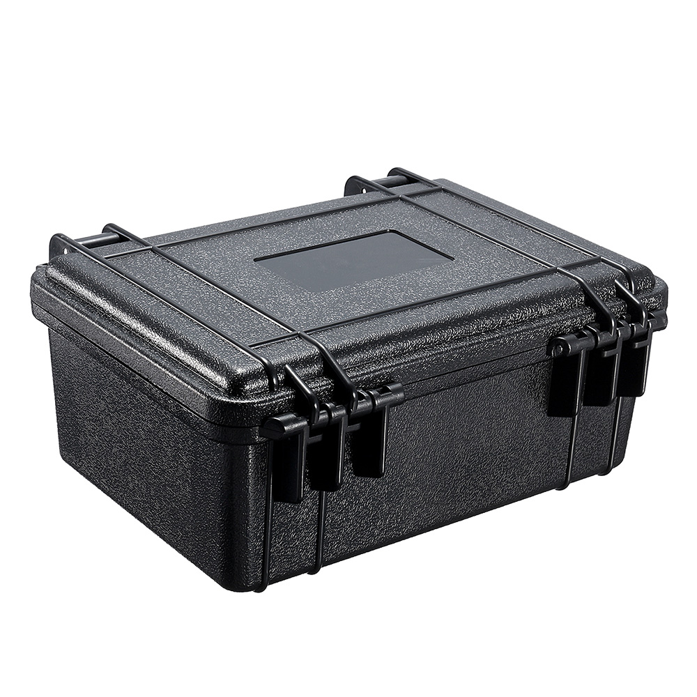 Portable Waterproof Hard Carry Case Bag Tool Kits Storage Box With Sponge Safety Protector Organizer Hardware Toolbox