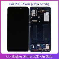6.21 Original For ZTE Axon 9 Pro A2019 LCD Display Touch Screen Digitizer Panel Assembly Replacement Parts