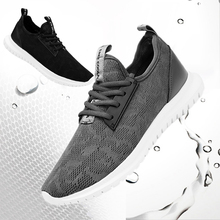 Men's casual shoes summer lightweight breathable large size women sneakers mesh