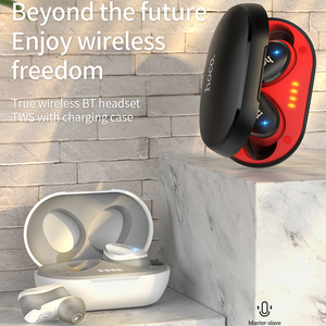 Image 2 - HOCO Professional Twins Mini 3D Stereo Sound Bluetooth 5.0 Earphone Invisible True Bass Wireless Sport Earbuds with Power bank