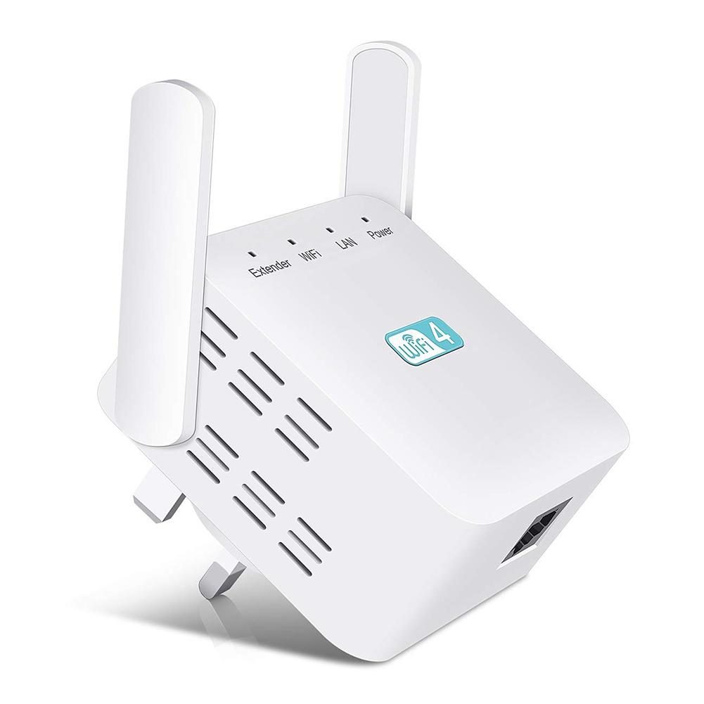 Wireless WIFI Repeater 300Mbps Internet Signal Booster Wall Mounted Amplifier Ultra Compact WIFI Extender