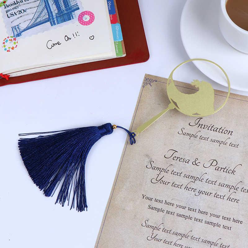 1 Pc Metalen Surf Golf Fan Bookmark Elegante Literaire Prachtige Gift Bladwijzer Voor Kinderen Student Gift School Kantoorbenodigdheden