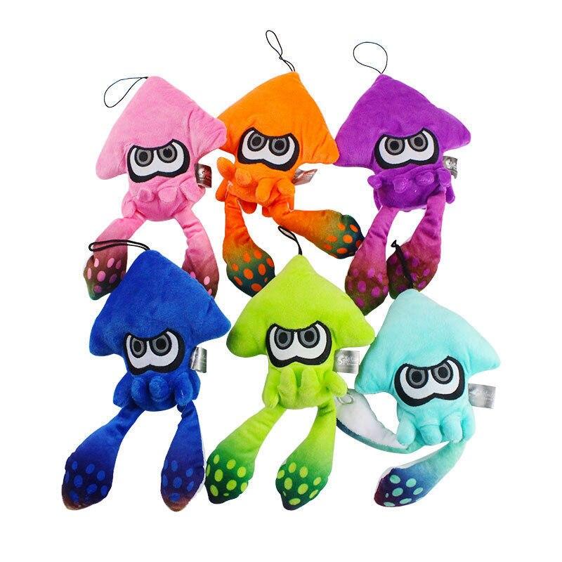 25cm Splatoon Inkling Squid pluszowa zabawka pluszaki wisiorek lalka na prezent bożonarodzeniowy dla dzieci