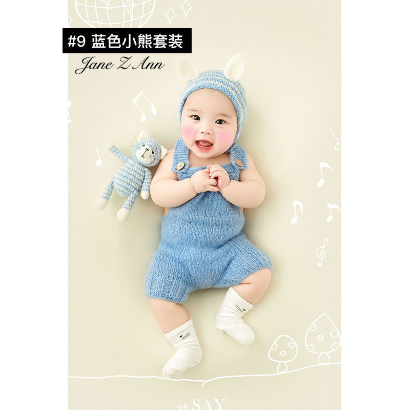 Jane Z Ann Baptism Clothes for Babies  Baby Photo Shoot Clothing Filming Props  Children 100 days/3-4 month  Theme costume 4