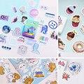 45 шт./кор. различные наклейки пакет Kawaii планировщик журнал Скрапбукинг наклейки канцелярские школьные принадлежности