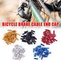 Наконечники тормозных колодок для горного велосипеда, алюминиевая крышка, детали шестерни для велосипеда, Велосипедное оборудование, аксе...