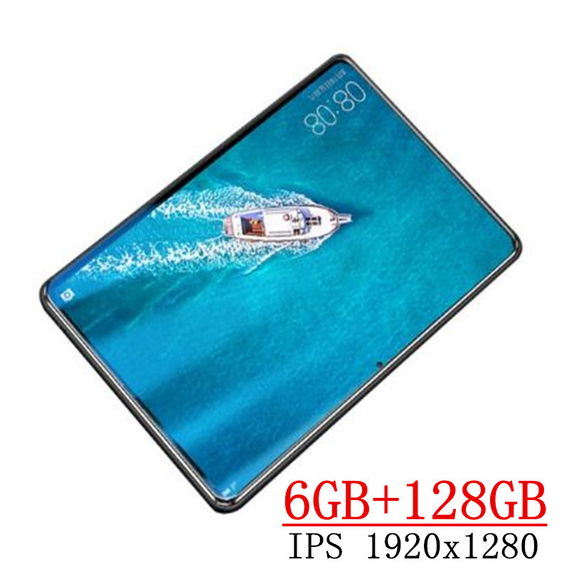 2020 YAHU New 10.1 Inch The Tablet Android 8.0 8 Core 6GB RAM + 128GB ROM Dual Camera 8MP SIM Tablet PC Wifi GPS FM 4G Lte Phone