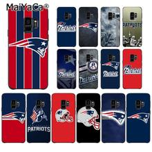 MaiYaCa New England Patriots Customer High Quality Phone Case for Samsung S9 S9 plus S5 S6 S6edge S6plus S7 S7edge S8 S8plus(China)