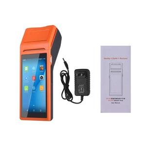 Image 5 - Mobile Handheld PDA Android Pos Terminal Terminales 3G Wireless Wifi Bluetooth PDA With 58mm Thermal Printer 5.5 Touch Screen