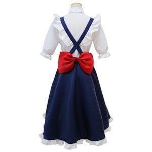 Image 3 - Fräulein Kobayashi der Drachen Maid Tohru Cosplay Kostüm für Frauen Kobayashi San Chi Keine Maid Uniformen Kostüm