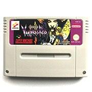 Castlevania Vampires Kiss 16bits เกม cartidge สำหรับ pal คอนโซล