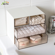 organizer Creative drawer storage box office learning sundries desktop storage box finishing box make up organizer zebra print organizer box