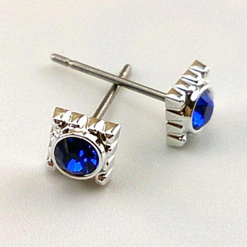 Anime preto mordomo conjunto de jóias brinco colar 5 anéis 2 broche fãs conjuntos de jóias mesmo em torno de acessórios