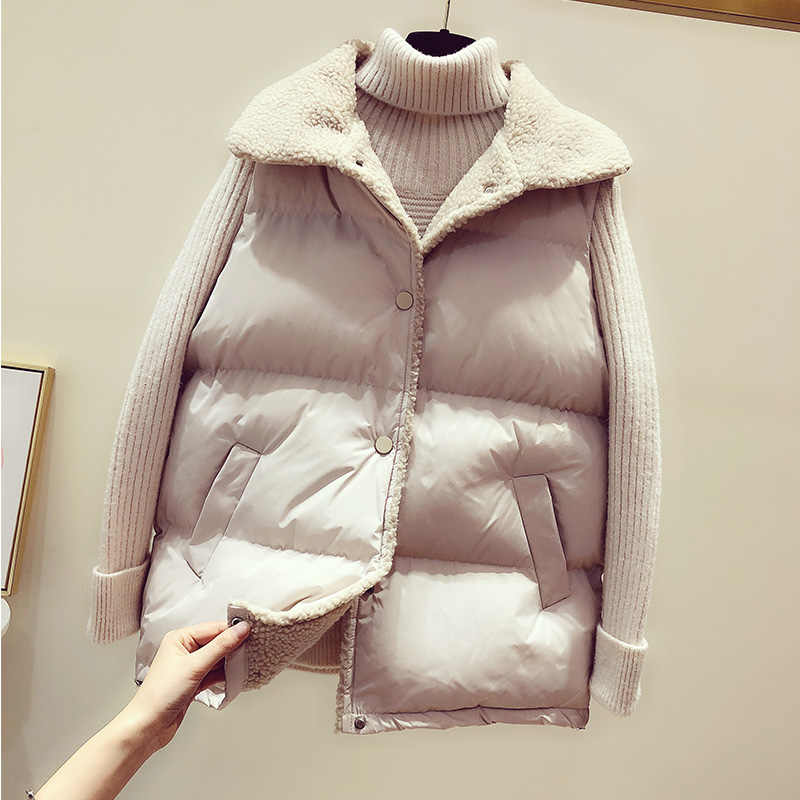 Cheap wholesale 2019 new autumn winter  Hot selling women's fashion casual female nice warm Vest Outerwear MP330