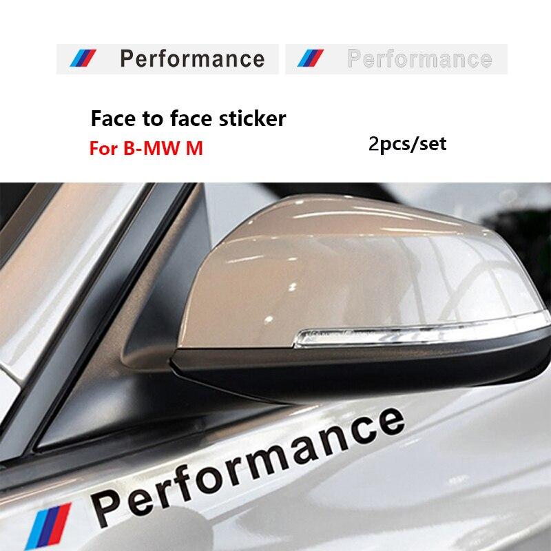 Автомобильные наклейки для BMW E46 E39 E38 E90 E60 E36 F30 E31 E34 F10 F20 E87 E92 E91 E53 E70 X1 X5 X3 X6 M M3 5 G01 G30, 2 шт.