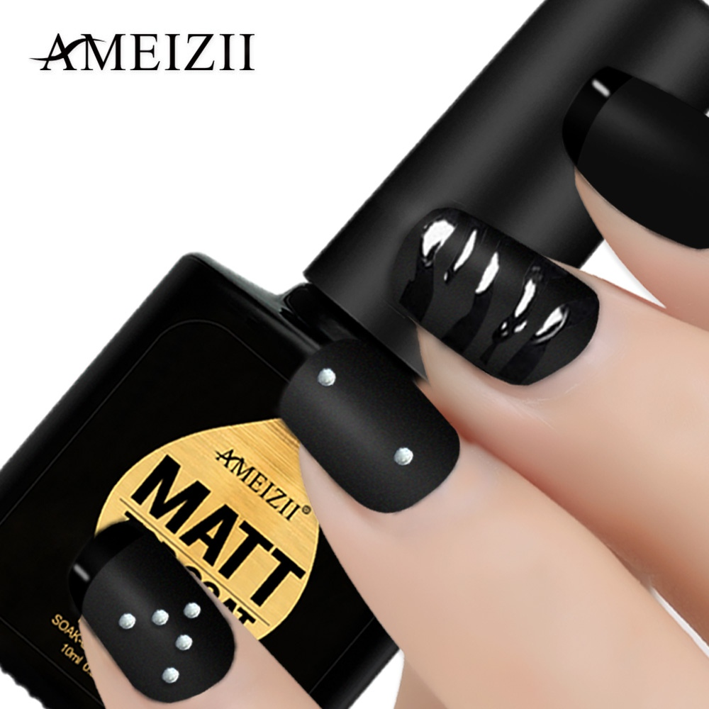 AMEIZII Gel Nail Polish Matte Top Coat Nail Art Uv Gel For Nail Manicure Easy Cleaning Gel Varnish Lacquer Healthy Acrylic Glue