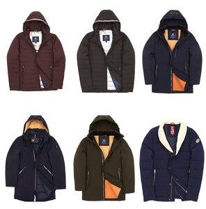 Image 3 - Blackleopardwolf 2019 men spring jacket men coat spring hotsale Winter Down Jacket parkas Fur Winter CoatClearance