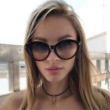 Classic retro cat eye women sunglasses plastic sexy fashion Brand designer Female Gradient sun glasses UV400 Oculos Feminino
