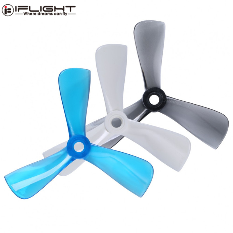 2 Pairs iFlight Nazgul Cine <font><b>3040</b></font> 3x4 3 Inch 3-Blade <font><b>Propeller</b></font> for Banshee / Bumblebee Cinewhoop FPV Racing Drone RC Parts Accs image