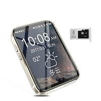 AEKU i5S Super Mini mobile phone 2.2 Screen sport pedometer Watch 450mAh Bluetooth cell Phones MP4 MP3 Small Mobile Phone