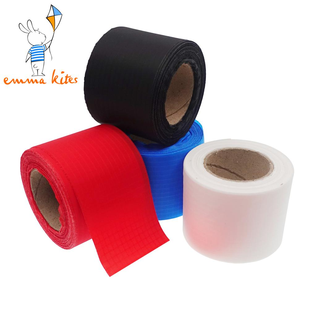 2in X 30 Yards Ripstop Nylon Binding Tape Non-Adhesive For Making Kite Tail Auxiliary Color Ribbon DIY Fabric Projects