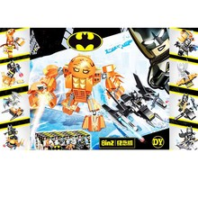 8pcs Avenger Super Hero Batman War Chariot Building Blocks Toy boy Birthday Gift Brinquedo B782