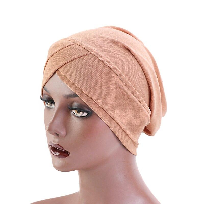 Femmes Big Fleur musulman Cancer Chimio Chapeau Hijab perte de cheveux tête écharpe turban-Cap