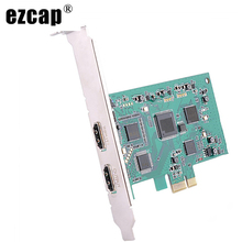 Video-Capture-Card HDMI EZCAP Broadcast-Streaming-Plate Recording Audio Game-Live Express
