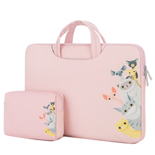 PU Leather Laptop bag Notebook Sleeve Bag 11 13 14 15 15.6 inch for Macbook Air Pro 13.3 Dell Asus HP Acer Laptop Case for women 2 in 1 accurately designed protective pu leather cover portable carrying bag for 15 6 acer swift 3 sf315 51g series laptop