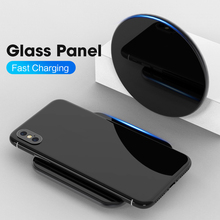 SIKAI 15W Qi Wireless Charger For iPhone X Xr Quick Charging Dock For Airpods Limitless Charge Station For Xiaomi Mobile Phone
