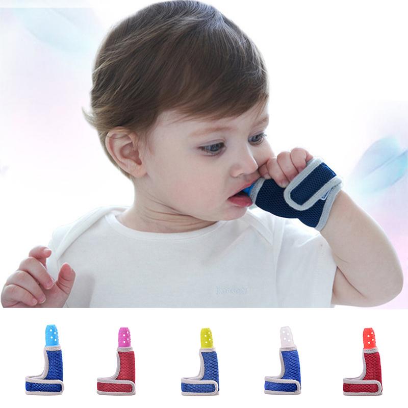 Silicone Baby Teether Molars Food Grade Finger Sets Breathable Thumb Set Dental Care Newborn Anti-bite Hand Sucking Wrist Band