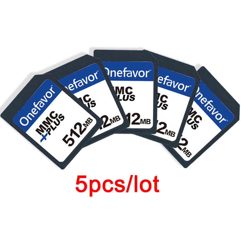 Big Promotion 5pcs/lot!!!onefavor  512MB  MMC MultiMedia Card 13PINS