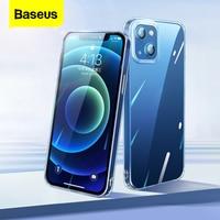 Custodia per telefono trasparente Baseus per iPhone 13 Pro Max Cover posteriore in Silicone TPU morbido antiurto trasparente per iPhone 2021 nuova custodia