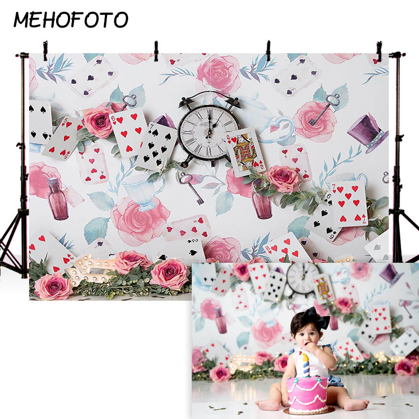 Image 5 - MEHOFOTO Newborn Baby Floral Photography Backdrops Flower Photographic Studio Photo Background Birthday Decorations PropBackground   -