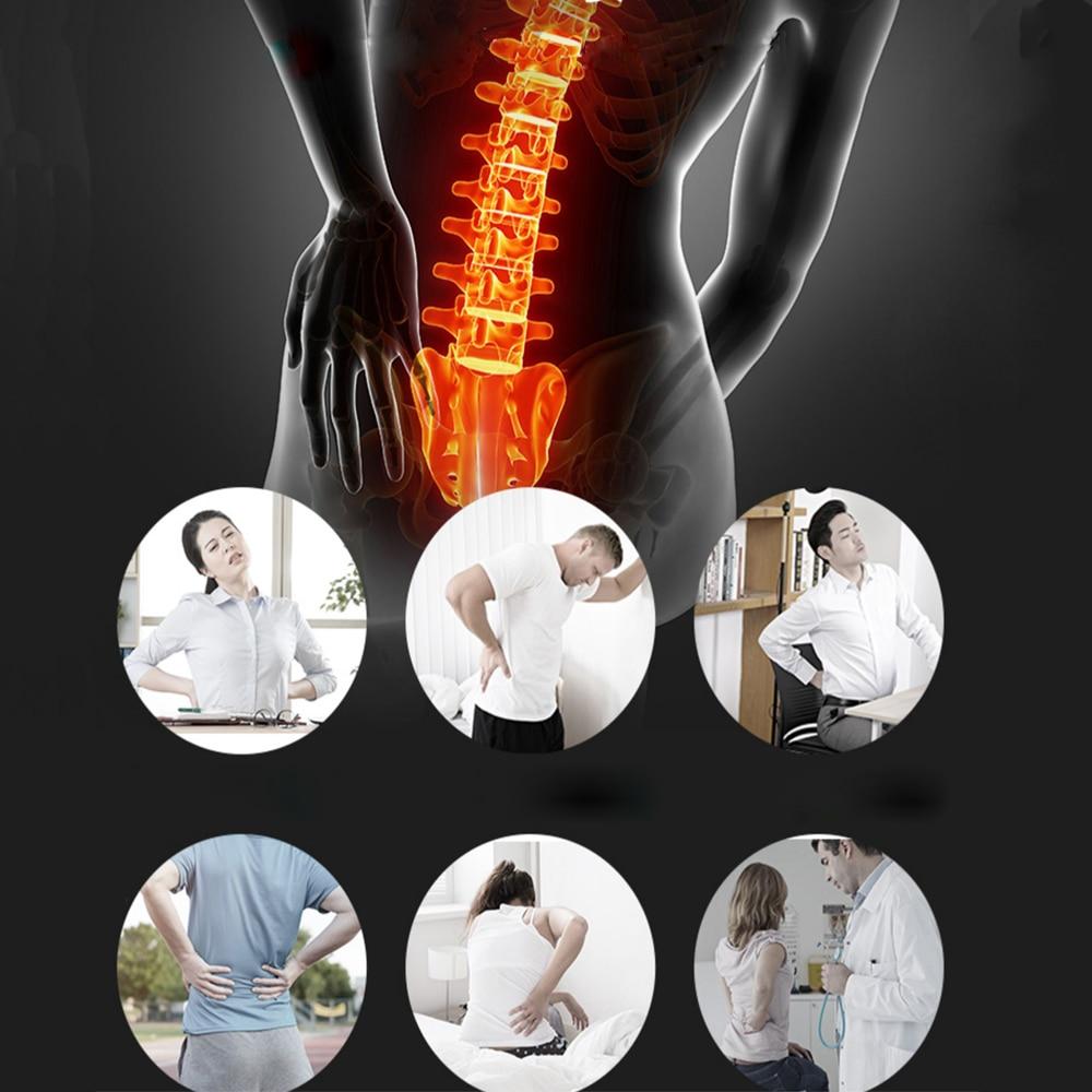 * Tcare Adjustable Waist Tourmaline Self heating Magnetic Therapy Back Waist Support Belt Lumbar Brace Massage Band Health Care 2