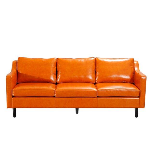U-BEST Modern Leather Sofa  4