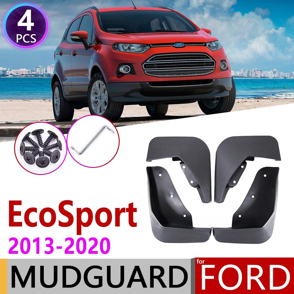 Car Mudflap For Ford Ecosport 2 MK2 2013~2020 Fender Mud Guard Splash Flaps Mudguard Accessories 2014 2015 2016 2017 2018 2019