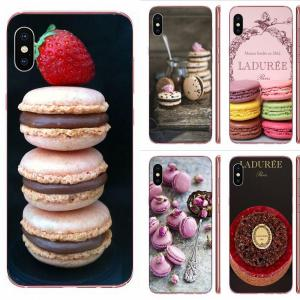 Paris Laduree Macaron Pattern Phone Cases For Galaxy A81 A71 A51 A01 S11 S20 Plus Ultra Note 10 Lite M60s M30S A70 A50 A20E A10S
