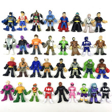 DC Superman Batman Joker Superman Action Figures Superhero Figures Collection Toys For Kids Toys Gift new led flashlight keychina with sound action toy figures raving rabbids keychain toys gift for child kids toys