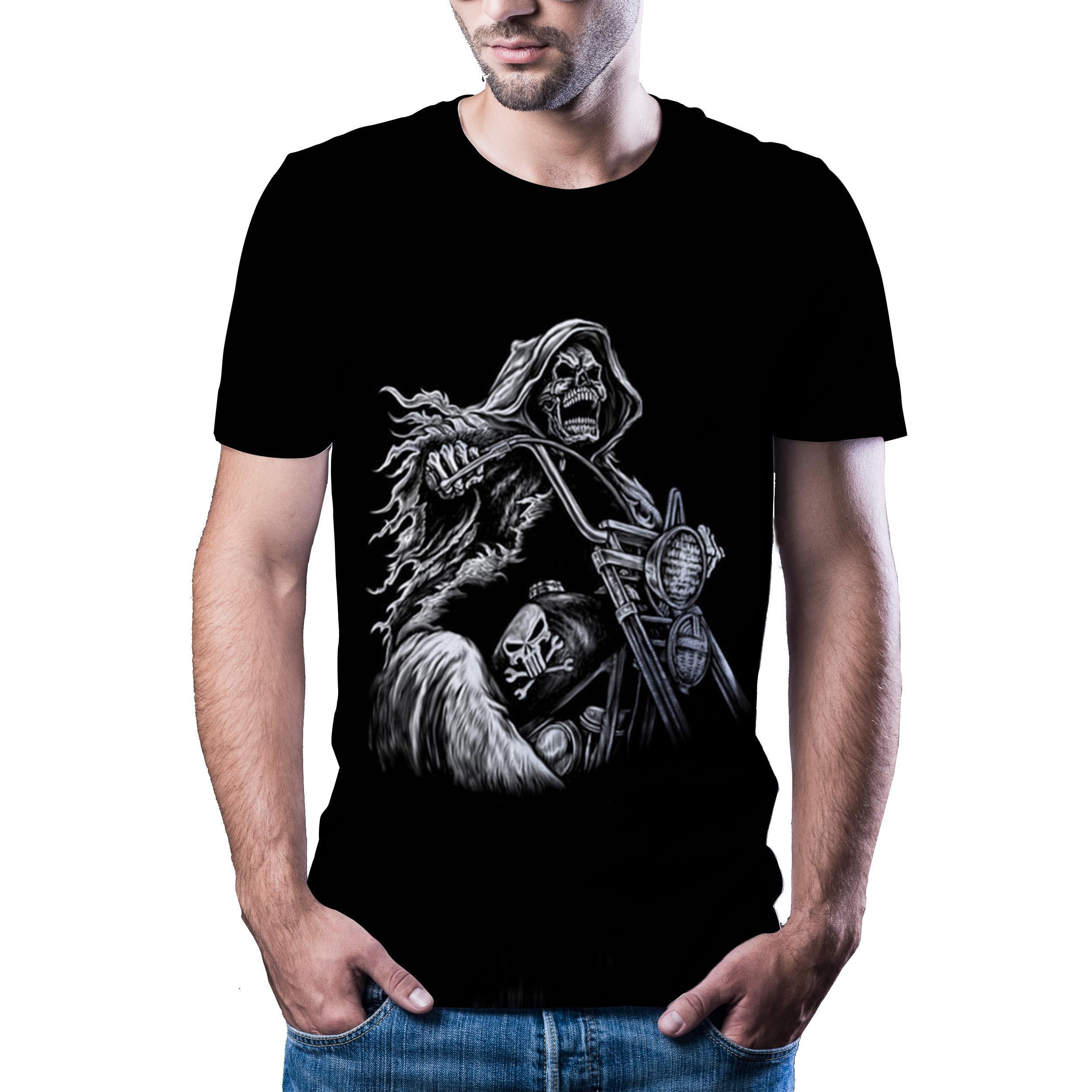 Мужская забавная футболка 2020, Высококачественная футболка с 3d принтом, мужская повседневная крутая Мужская футболка в стиле хип-хоп и уличн...
