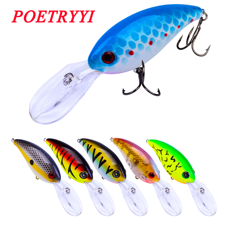 1pcs lot 14 5g 10cm Minnow Fishing Lures Japan Deepswim Shaking Hard Bait 3D Eyes Plastic Crank Bait Swimbait Sinking Wobbler 30 in Fishing Lures from Sports Entertainment