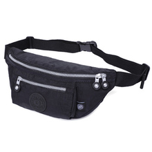 New Colorful Waist Bag For Men Fanny Packs Multifunction Military Zipper Waterproof for Outdoor Wear